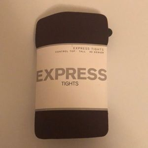 Express ladies brown tights